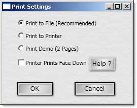 raffle printer